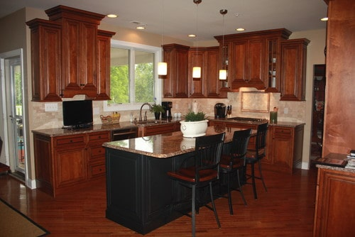 Buckingham beauty kitchen remodel by Sycamore Kitchens & More