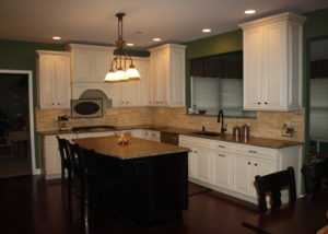 Comfy Traditional Kitchen Remodel by Sycamore Kitchens