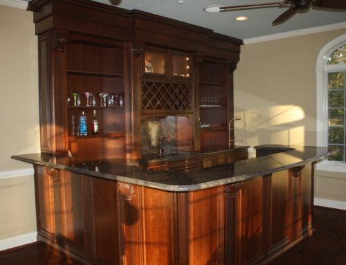 Elegant Conservatory Bar