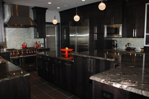 Dramatic contemporary kitchen by Sycamore Kitchens