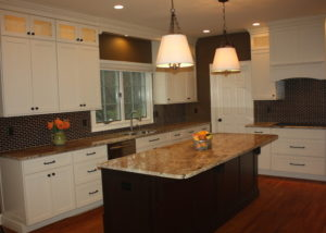 Glass Galore Kitchen by Sycamore Kitchens & More