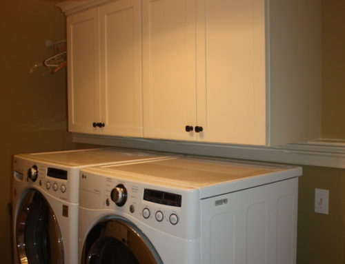 Glass Galore Laundry Room