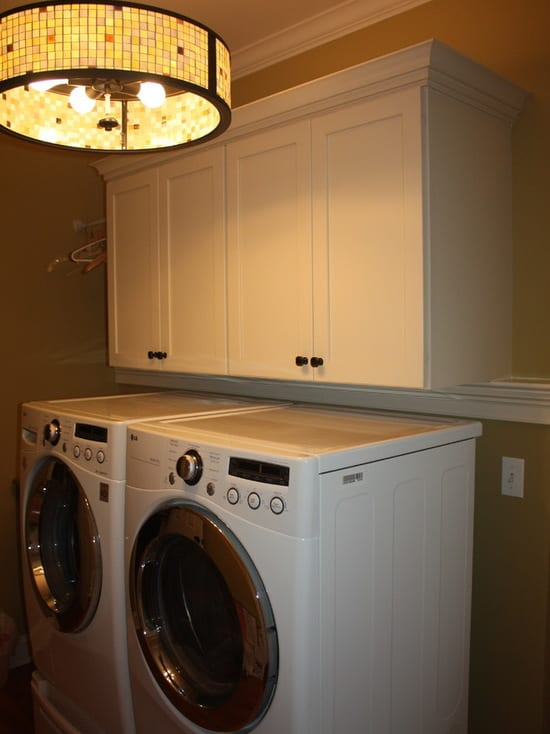 Glass Galore Laundry Room by Sycamore Kitchens & More