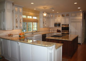 Glass Galore in Upper Makefield, PA by Sycamore Kitchens