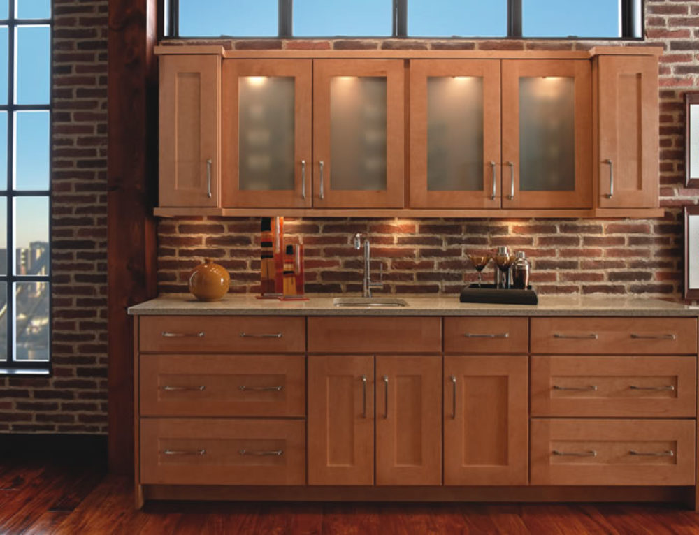Rigby Wet Bar with Yorktowne Cabinetry