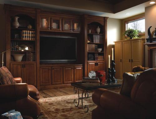 Built-In with Wilder Clayton Yorktowne Cabinetry