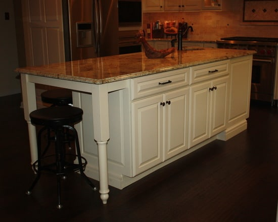 New Hope Great Room Kitchen by Sycamore Kitchens & More