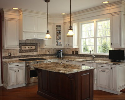 Tuscany inspired kitchen by Sycamore Kitchens & More