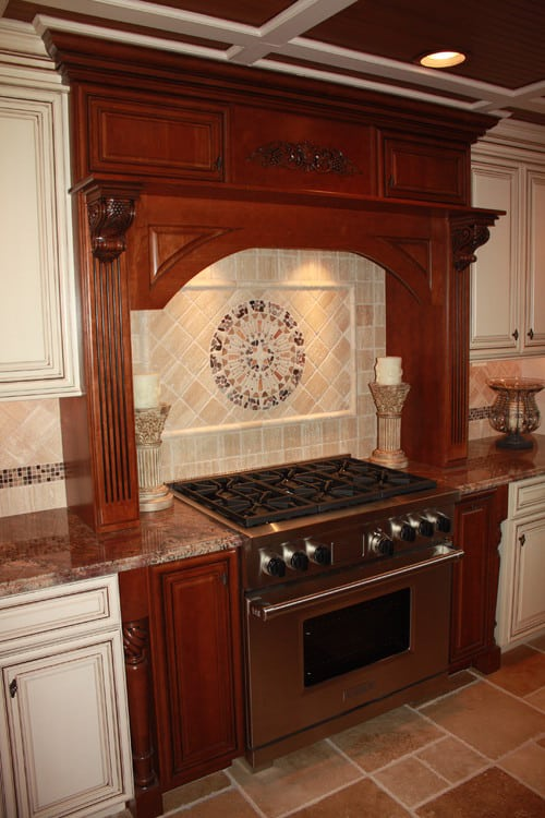 Tuscany Inspired Kitchen Remodel Sycamore Kitchens Amp More