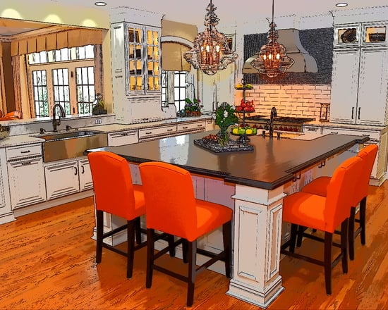 View Larger Image Magnificent Main Line Kitchen By Sycamore Kitchens More